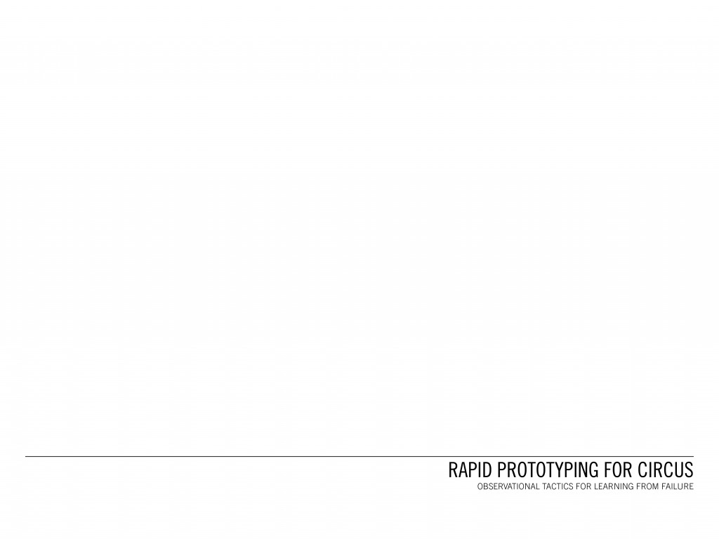 RapidPrototypingForCircus